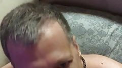 Fag David Miller from Missouri US sucking cock