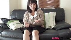 Japanese teen Aya Sakai gets doggystyle penetration