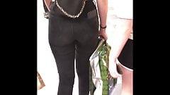 Negro jeans sxy adolescente sincero botín
