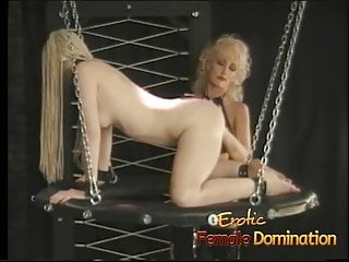 First pussy hair pictures Sexy long haired slave meets the flogger for the first time