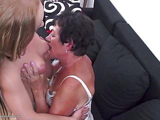 Milfs teaching their daughters - Mature moms teaching daughters lesbian sex