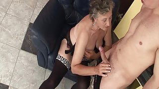 Granny wants stepsons hard cock