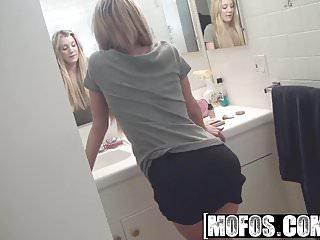 Brooke teasing strip Mofos - mofos b sides - amy brooke - gf teases dudes dick