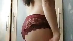 Teen indian girl made selfie for bf