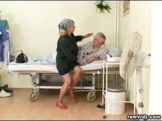 Rough sex nurse - Nubile nurse gets a show