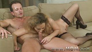 STEP MOM Mature women that love sucking cock
