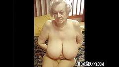 ILoveGrannY Hairy Granny Pussies Compilation