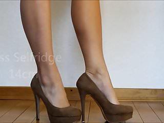 High speed jerk off - High heel collection - jerk off challenge