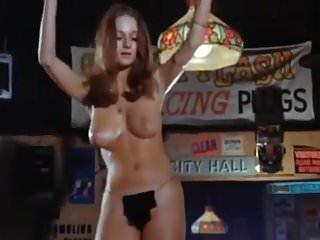 Sexy club dancing - Sexy topless cool boobs gogo hippie girl club dance 60s