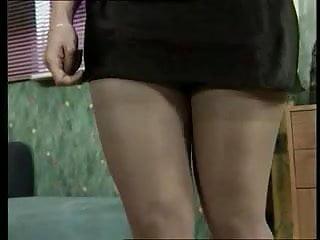 Milf stocking high heels High heels and nylons 02