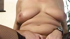 GREAT BUSTY Couple  NICE GRANNY