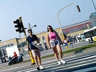Pink teen trailers Big euro titties crossing the street in pink teen