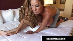 Hot Horny Milfs Deauxma & Minka Scissor Bang Their Pussies!