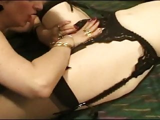 Mature women fuck clips - Mature women fuck each other and then play with a cock