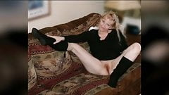 Naughty Mature Blonde Housewife Photo Compilation