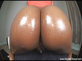 Slutload black ass cheeks Chocolate ass cheeks glisten while she dances