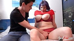 AgedLovE Busty Mature Got Horny Hardcore Fuck