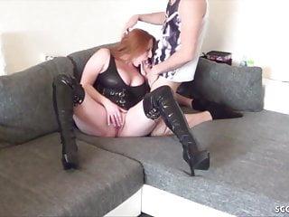 Rimjobs big tits tube8 German big tits step mom melissa caught and get fucked