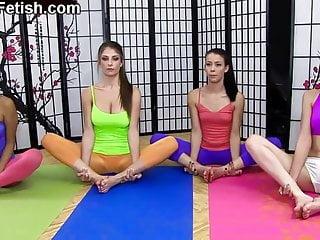 Tranny masters - The yoga master - namaste 2