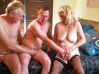 Blondie blowjobs Bisex trio blondie woman