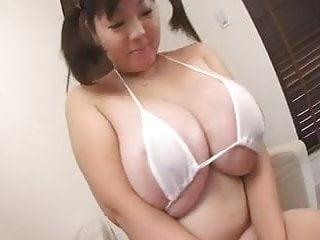 Chubby japanese women Chubby japanese schoolgirl play with xxl boobs