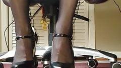 Man in heels