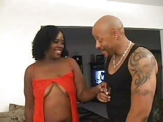 Ebony gets fucked Bbw ebony gets her hairy pussy fucked