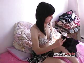 Hairy puss boob Quiet geeky busty inverted nipple asian girl with hairy puss