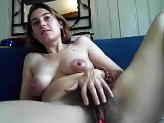 Very hairy abussed Very hairy and busty beauty