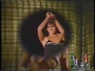 Strip teach model - Brunette model strips outdoor