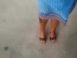 High heel black porn - Ebony soles in high heel sandals