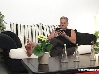 Grandpa sucking fucking - Beautiful milf and sucks and fuck at grandpas