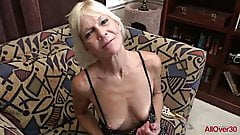 Mature Blonde Mimi Smith GILF Masturbation