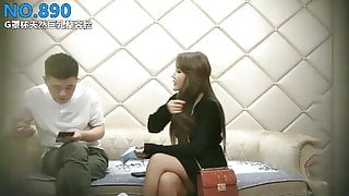 Chinese Real Prostitute with G-cup boobs and a plastic surgery face