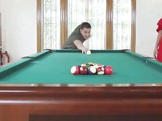 Strip billiards computer games Sloan harper in cream game of billiards