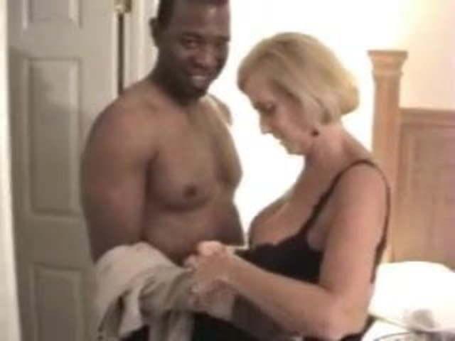Big Butt Granny Interracial