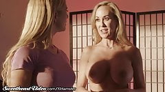 Sweetheart Brandi Love shows Cherie How to Seduce a Woman