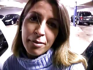 Andrea crawford facial gel Andrea gives blowjob in parking garage