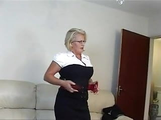 Horny mature secrtaries - Busty and horny mature