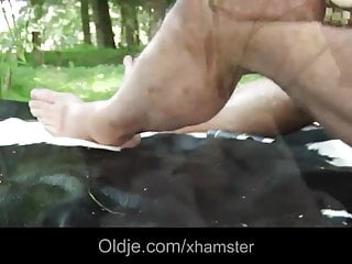Young cutie blowjob Old hippie man bangs a cutie young girl in the woods