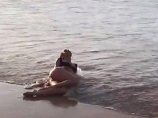 Holly brisley beach in bikini Candice swanepoel laying on beach in black bikini