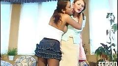 Irene A & Jozy 04 - Pantyhose lesbians