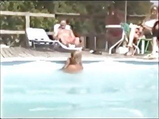 Breast swiming Triple amputee swiming