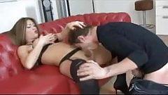 Sexy Luana exams her deep ass