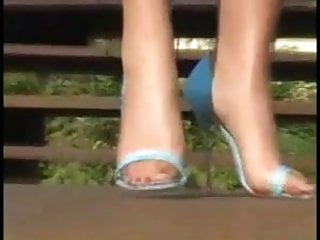 Nylons and high heels fucking Outdoor nylons and high heels