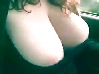 Fling ons sex Boobs flinging out of her shirt
