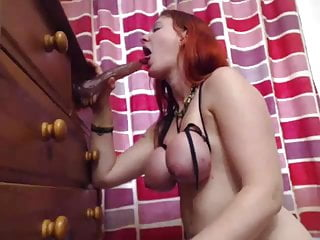 Tied up deep throat - Deep throat slap tied tits