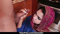 TeenPies - Muslim Girl Praises Ah-Laong Dick