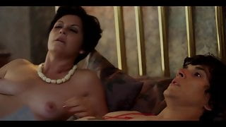 Hot Mom and Step Son Scene From Movie