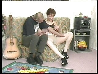 Older penis size - Slutty milf in pantyhose juices an older mans penis